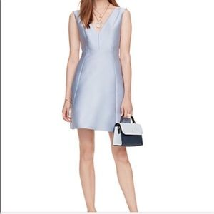 Kate spade light blue dress with back bow